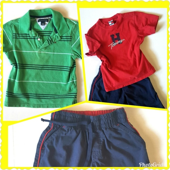 Tommy Hilfiger Little Boys Graphic Tee Shirt Very Soft NWT Size 3T